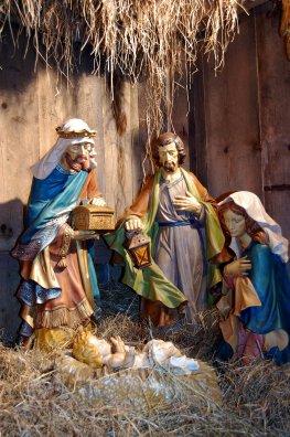 Weihnachtskrippe - Maria und Josef