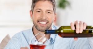 Weingenießer - Weintrinken ist gesund.