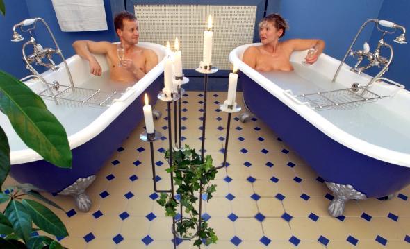 Bad Elser hat einiges zu bieten, unter anderem einen exklusiven Wellness-Bereich.