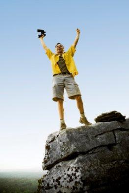 Willenskraft - der Gipfel ist geschafft
