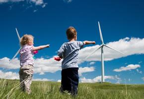 Windkraft - Erzeugt Strom mit Windräder
