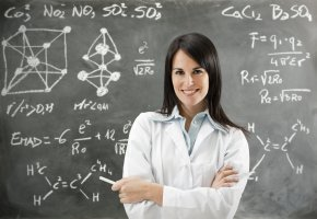 Wissenschaftliche Berechnungen an der Tafel