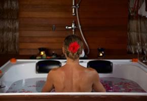 Verwöhnen Sie Ihren Körper in der Badewanne!