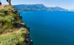 Wunderschöne Aussicht - Wandern am Gardasee