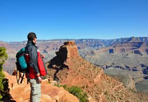 Wunderschöner Ausblick über den Grand Canyon