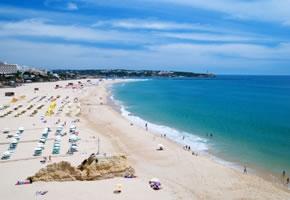 Wunderschöner Strand an der Algarve