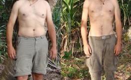 Cast Away Diät: Xavier Rosset hat auf einer Insel abgenommen
