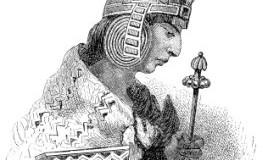 Azteken - Zeichnung eines Inca-Prinzen