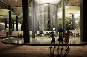 Zukunftsvisionen - der unterirdische Park soll bald Realität werden