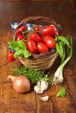 Die sizilianische Küche hat viel geschmackliches zu bieten, vorallem das Gemüse und die Kräuter duften herrlich.